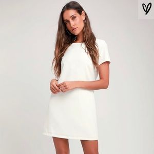 LULU's shift and shout dress. Never worn - size L
